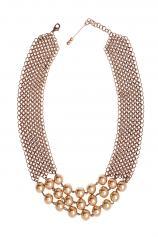 Colier handmade cu perle